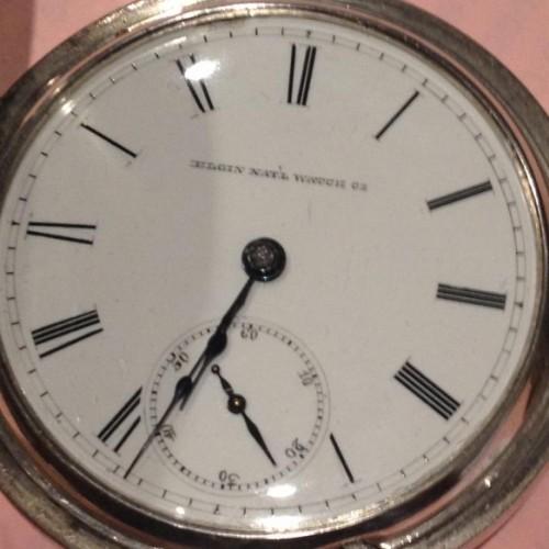Elgin Grade 6 Pocket Watch Image