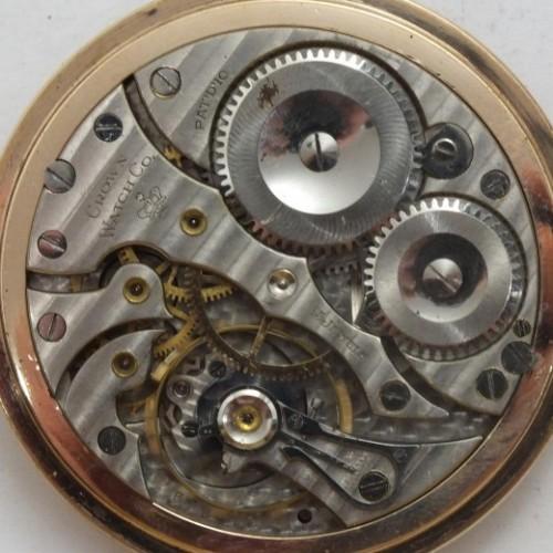 Crown Watch Co. Grade Crown 1516 Pocket Watch Image