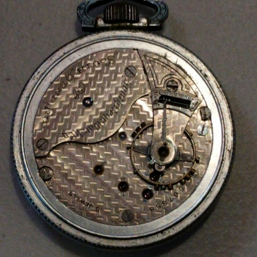 South Bend Grade 333 Pocket Watch Image