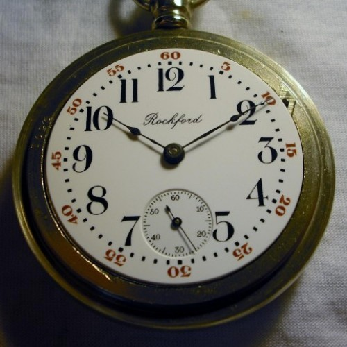 Rockford Grade 930 Pocket Watch Image