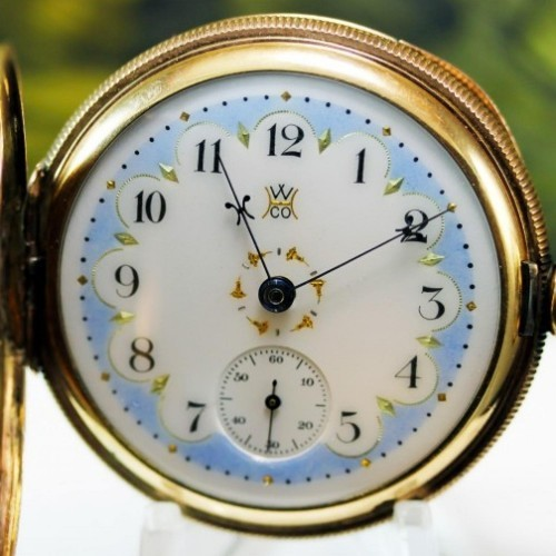 Hampden Grade Special Railway Pocket Watch Image