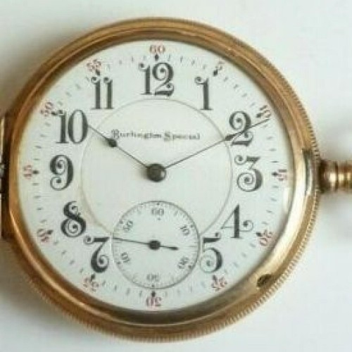 Illinois Grade 185 Pocket Watch