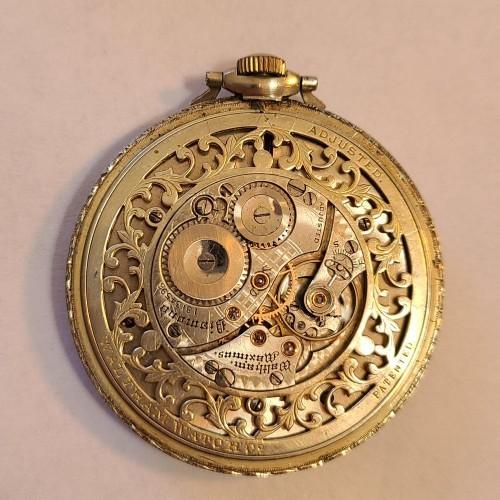 Waltham Grade Diamond Pocket Watch Image