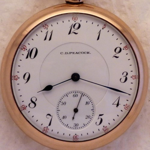 Elgin Grade 161 Pocket Watch Image