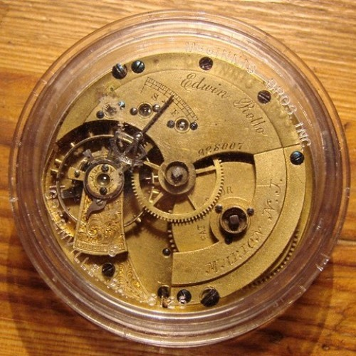 Image of U.S. Watch Co. (Marion, NJ) Edwin Rollo #228007 Case