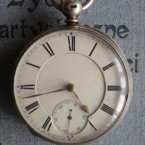 Waltham Grade Martyn Square Pocket Watch Image