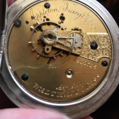 Appleton, Tracy, & Co. Grade A.T. & Co. Pocket Watch Image