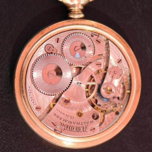 Waltham Grade No. 620 Pocket Watch