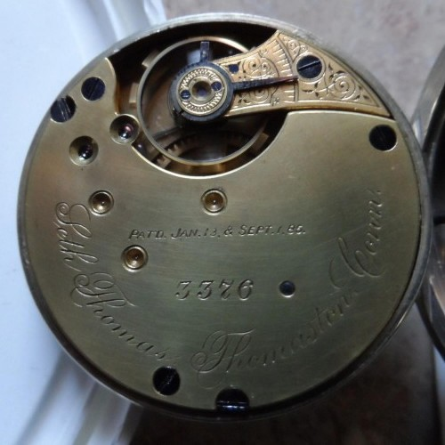 Seth Thomas Grade  Pocket Watch Image