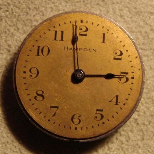 Hampden Grade Upper Ten Pocket Watch Image