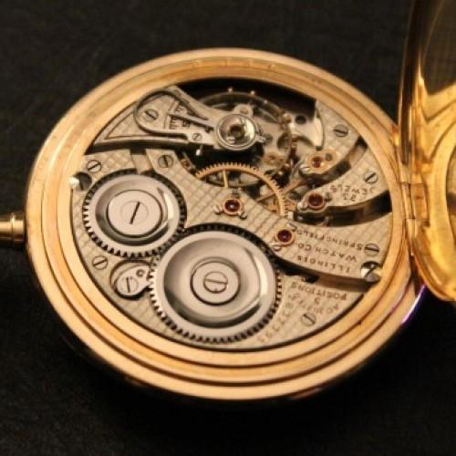Illinois Grade 510 Pocket Watch Image