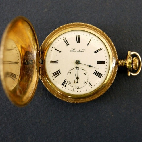 New York Standard Watch Co. Grade 144 Pocket Watch Image