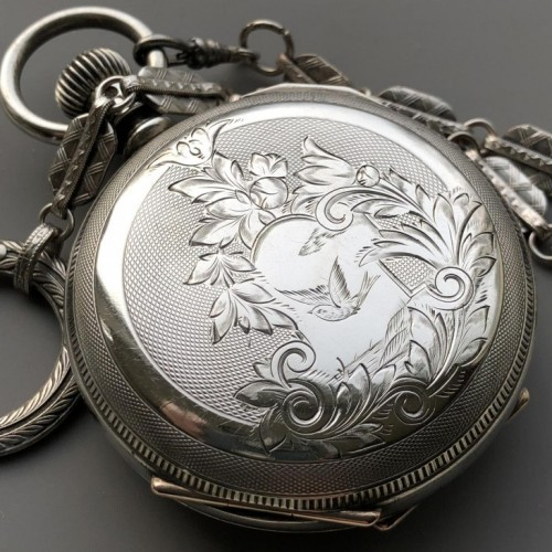 Illinois Grade 3 Pocket Watch Image