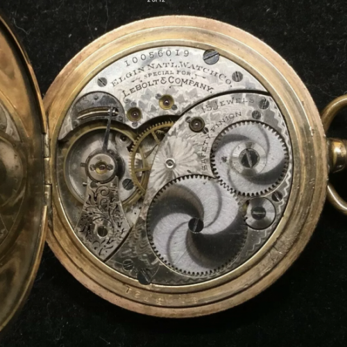 Elgin Grade 259 Pocket Watch Image