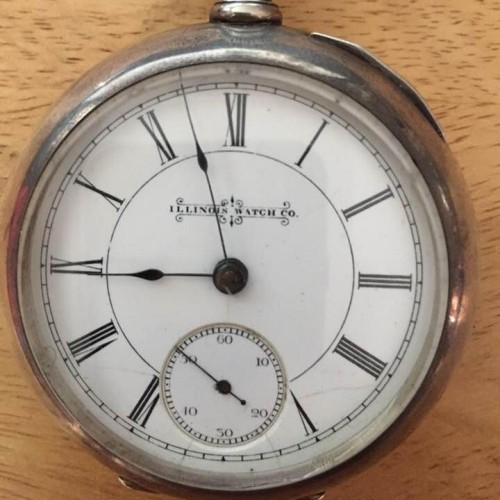 Illinois Grade 101 1/2 Pocket Watch Image