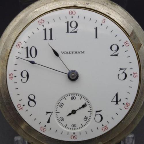 Waltham Grade No. 81 Pocket Watch Image