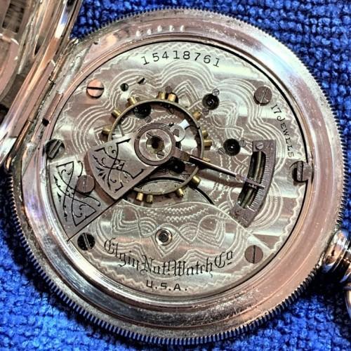 Elgin Grade 335 Pocket Watch Image