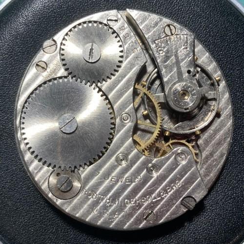 Robert H. Ingersoll & Bros. Grade Reliance Pocket Watch Image