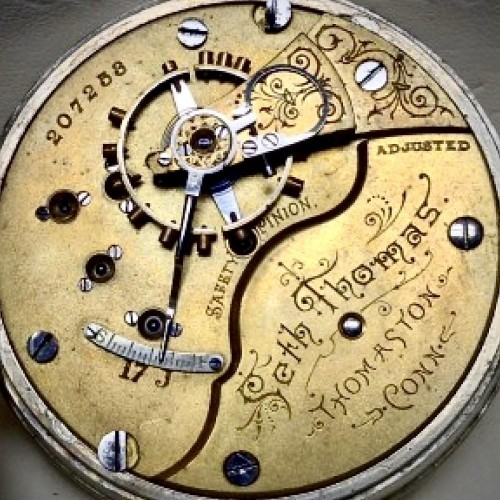 Seth Thomas Grade 82 Pocket Watch Image