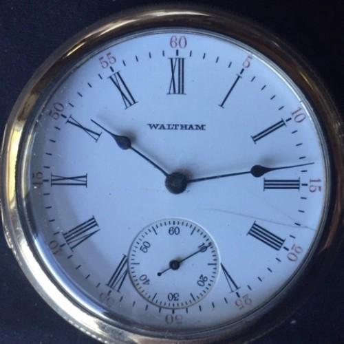 Waltham Grade No. 28 Pocket Watch Image