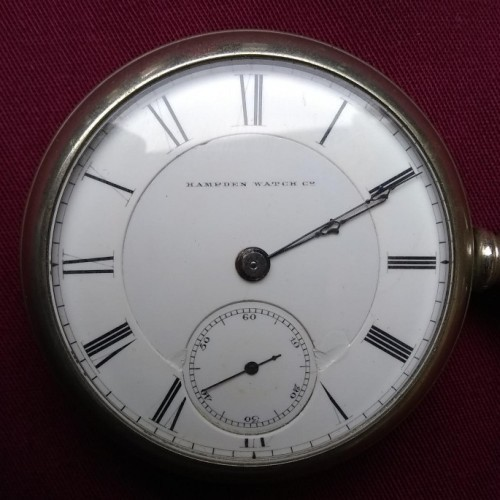 Hampden Grade Railway Pocket Watch Image