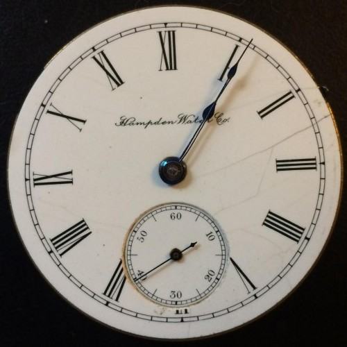 Hampden Grade Champion Pocket Watch Image