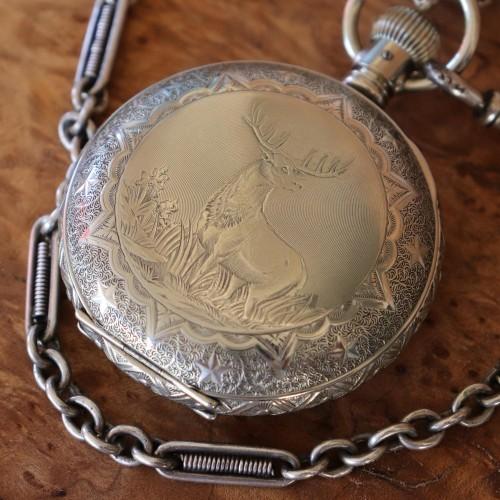 Elgin Grade 296 Pocket Watch Image