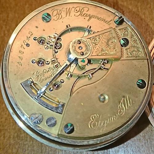 Elgin Grade 77 Pocket Watch Image