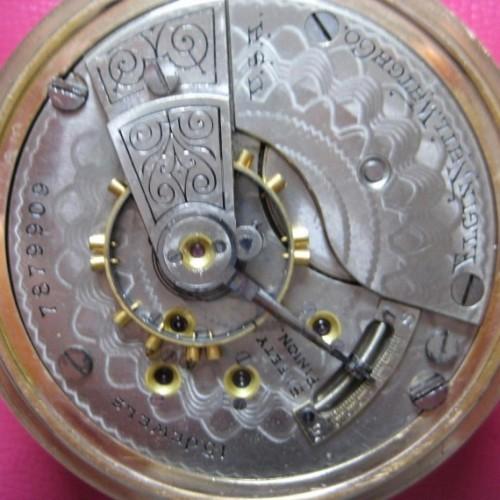Elgin Grade 170 Pocket Watch Image