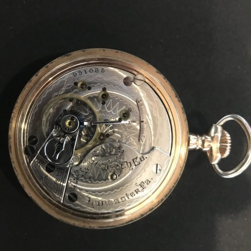 Hamilton Grade 925 Pocket Watch
