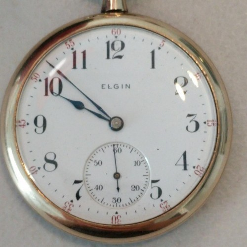 Elgin Grade 244 Pocket Watch Image