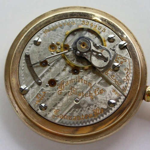 Image of Hamilton 940 #524435 Movement