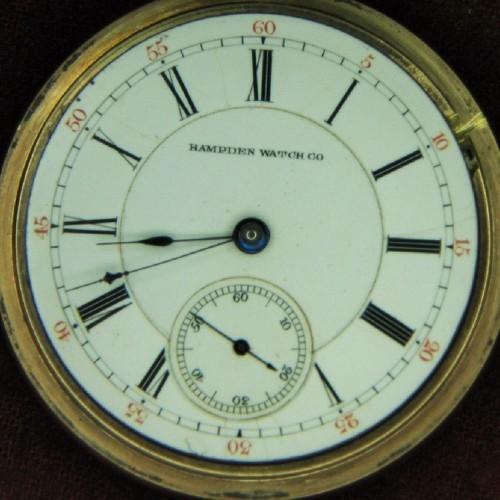 Hampden Grade No. 57 Pocket Watch Image