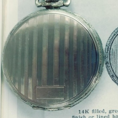 Illinois Grade 525 Pocket Watch Image