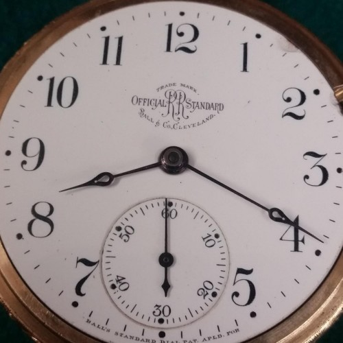 Ball - Hamilton Grade 999B Pocket Watch Image