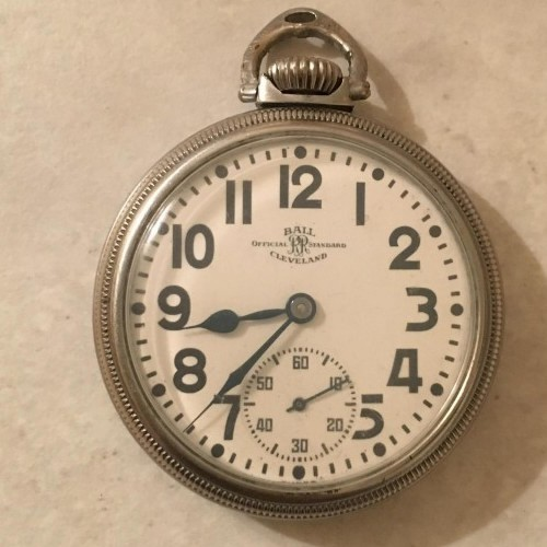 Ball - Record Grade 435B Pocket Watch Image