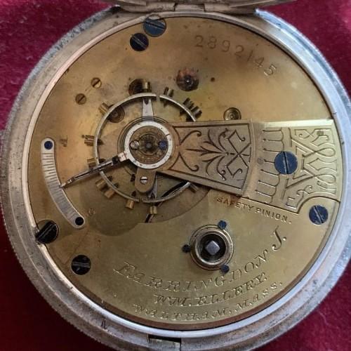 Waltham Grade Wm. Ellery Pocket Watch Image