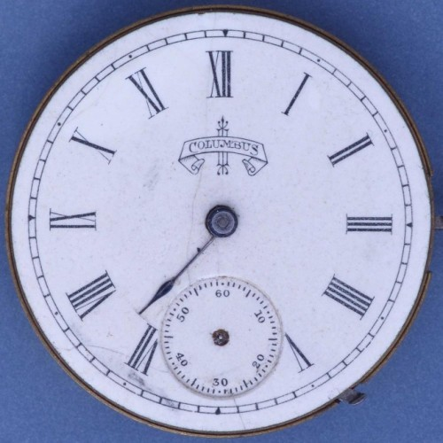 Columbus Watch Co. Grade 51 Pocket Watch Image