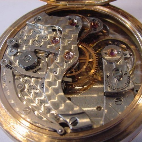 Waltham Grade A.W.W.Co. Pocket Watch Image