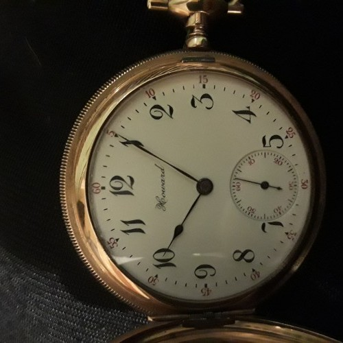Image of E. Howard Watch Co. (Keystone) Series 3 #896348 Dial