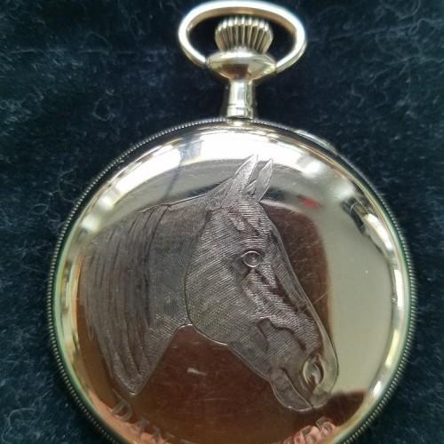 New York Chronograph Watch Co. Grade  Pocket Watch Image
