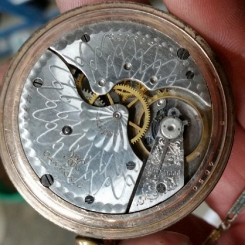 Hampden Grade No. 302 Pocket Watch Image