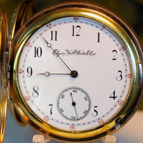 Elgin Grade 86 Pocket Watch Image