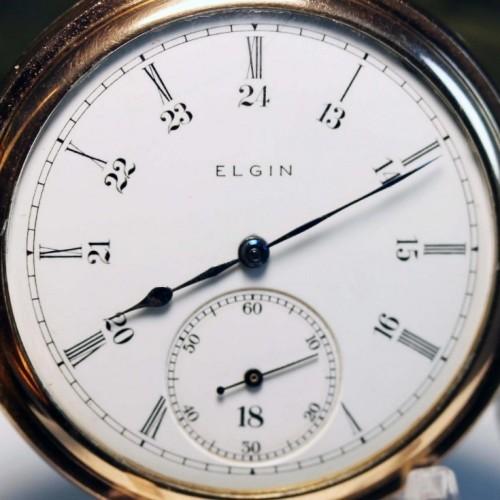 Elgin Grade 386 Pocket Watch Image