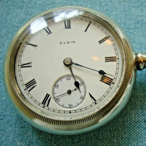 Elgin Grade 217 Pocket Watch Image