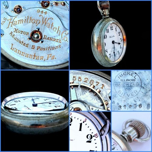 Hamilton Grade 944 Pocket Watch Image