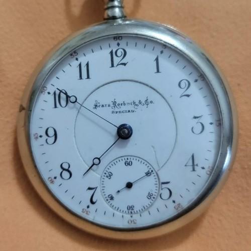 Illinois Grade 51 Pocket Watch Image