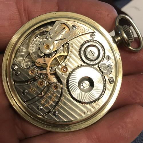 Rockford Grade 545 Pocket Watch Image