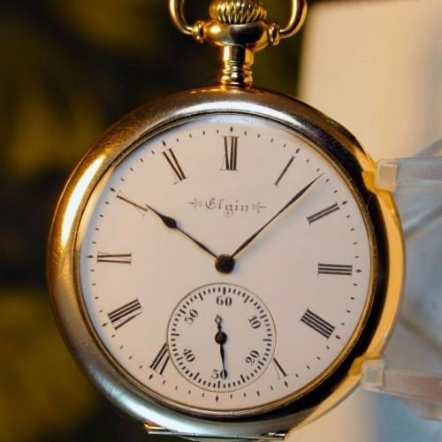 Elgin Grade 237 Pocket Watch Image