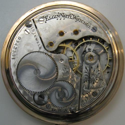 Elgin Grade 221 Pocket Watch Image